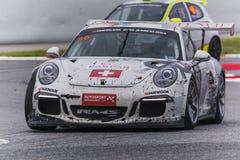 Moteurs de Classica par l'équipe de RMS Porsche 911 24 heures de Barcelone Images libres de droits