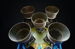 Moteurs-fusées de F-1 photos stock