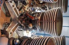 Moteurs-fusées de Saturne V Photos libres de droits