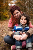 Mothe and her son Royalty Free Stock Image