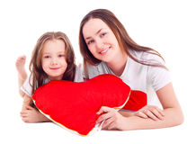 Motheand daughter Royalty Free Stock Photography