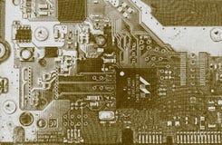 Motheboard предпосылки текстуры стоковая фотография rf