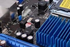 motheboard компьютера Стоковые Фото
