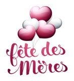 Mother's-Tag auf französisch: Fête DES Mères Stockfotos