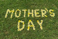 MotherÂs Tagesgrußkarte Lizenzfreies Stockbild