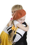 Mother and affectionate daughter. Royalty Free Stock Images