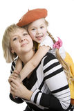 Mother and affectionate daughter. Royalty Free Stock Photo