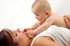 Mother And Baby 13 Royalty Free Stock Photography