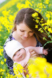 Mother And Baby Royalty Free Stock Images