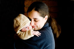 Mother And Baby Stock Images
