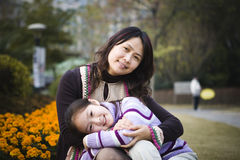 Free Mother And Daughter In Park Stock Photos - 6697613
