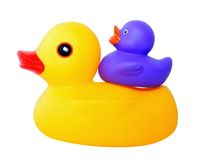 Free Mother And Duckling Royalty Free Stock Photo - 4034265