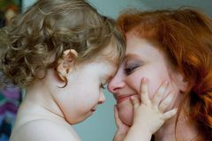 Mother And Son. Royalty Free Stock Photography