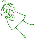 Mother angel Royalty Free Stock Images