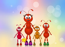 Mother ant Stock Photos