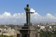 Mother Armenia Statue Royalty Free Stock Photo