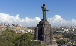 Mother Armenia Statue Stock Image