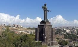 Mother Armenia Statue Stock Image