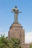 Mother Armenia statue. In Victory Park, Yerevan, Armenia stock photo