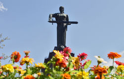 Mother Armenia Statue Stock Photos