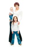 Mother with babies Royalty Free Stock Images