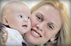 Mother and baby-1 Stock Images