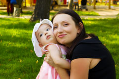 Mother and baby. Stock Photography