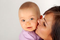 Mother and baby #11 Royalty Free Stock Image