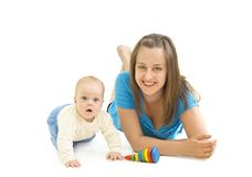 Mother with baby Royalty Free Stock Photography