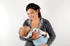 Mother and baby #16 Royalty Free Stock Photography