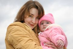 Mother with baby Royalty Free Stock Images