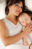 Mother and baby #19 Royalty Free Stock Photography