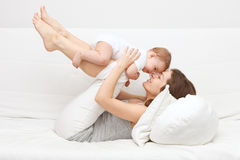 Mother with baby. Image of mother with baby Stock Photography