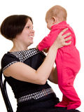 Mother with a baby royalty free stock images