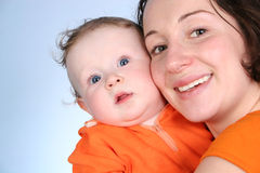 Mother with baby 2 Stock Image