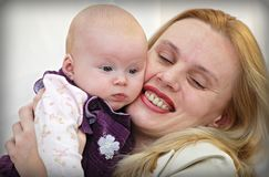 Mother and baby-2 Stock Image