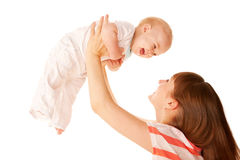 Mother and baby. Royalty Free Stock Photography