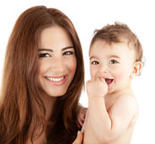 Mother with baby Royalty Free Stock Photo