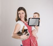 Mother with baby Stock Photos