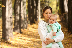 Mother and baby Royalty Free Stock Image