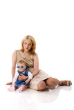Mother with baby Stock Image