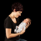 new mother and baby Royalty Free Stock Photography