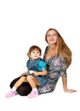 Mother with baby daughter Stock Photography