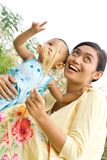 Mother and baby fun together Stock Photography