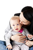 Mother with baby girl Royalty Free Stock Photo