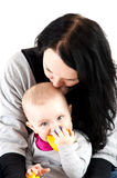 Mother with baby girl Royalty Free Stock Photos
