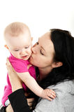 Mother with baby girl Stock Image