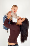Mother and baby girl Stock Image