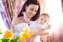 Mother with baby Stock Photo