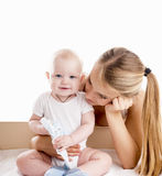 Mother with baby. Royalty Free Stock Image